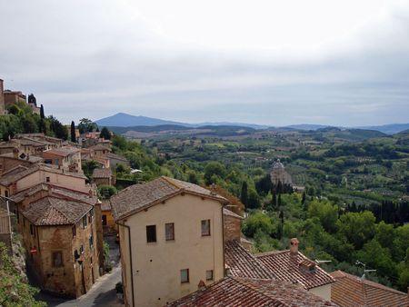 Tuscan vista Banco de Imagens - 4527647