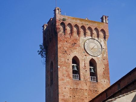 Tuscan bell tower