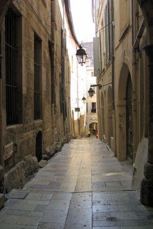 Passageway in Montpellier France