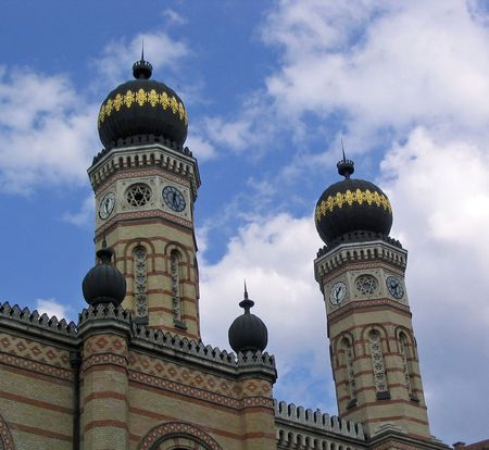 Great Synagogue in Doh�ny Street, Budapest photo