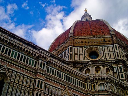Basilica di Santa Maria del Fiore in Florence Italy photo