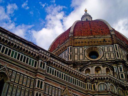 Basilica di Santa Maria del Fiore in Florence Italy