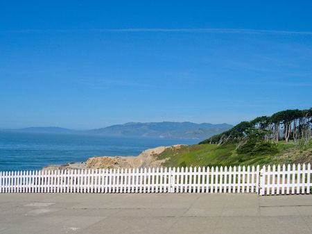 Marin county, San Francisco bay California Stock Photo