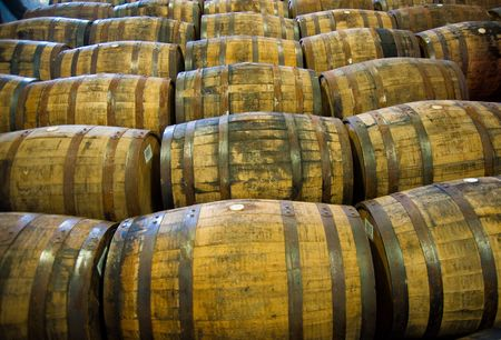 whisky: Scotch whisky barrels