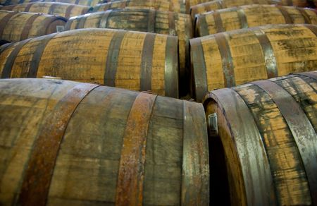 Scotch whisky barrels