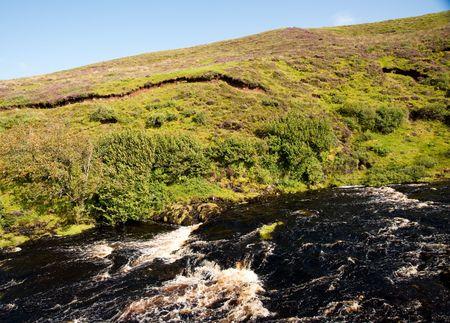 Isle of Skye stream, Scotland Фото со стока