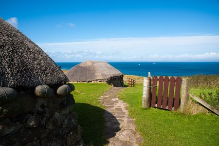 Skye Museum of Island Life Standard-Bild