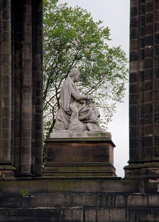 Scott Monument in Edinburgh Scotland photo