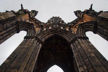 Scott Monument in Edinburgh Scotland Stock Photo - 6122871
