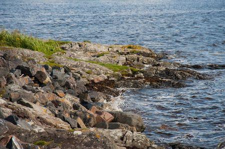 Highland loch coastline