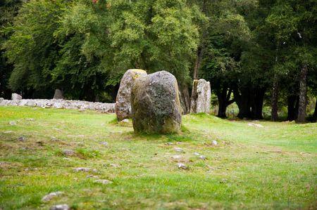 Standing stones at Balnuran of Clava