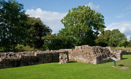 outpost: Hadrians wall in England