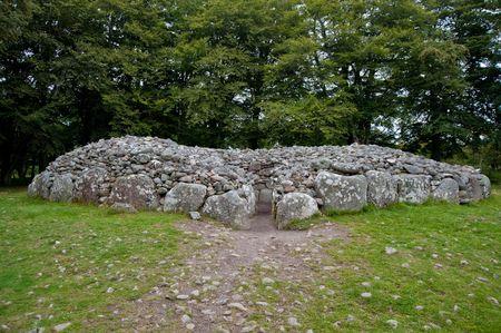 chambered: Chambered cairn at Balnuran of Clava