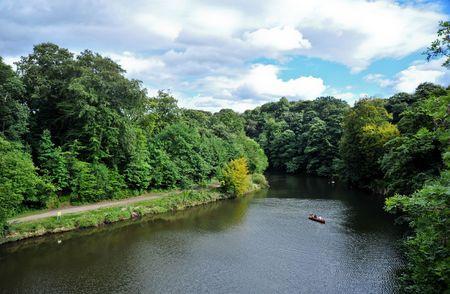River Wear in Durham England