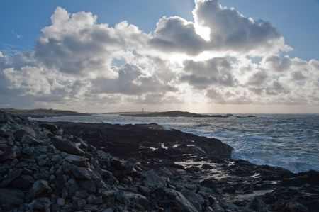 Rocky coastline of Islay, Scotland