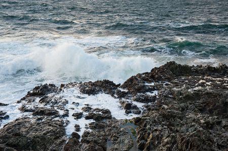 Rocky coastline of Islay, Scotland