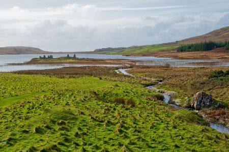 macdonald: Eilean Mor Loch Finlaggan, seat of the Lord of the Isles