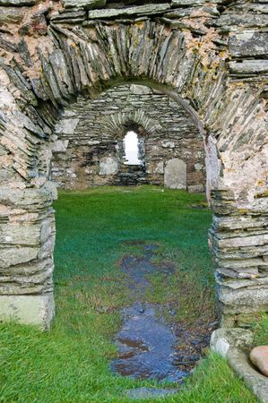 Kilnave parish church, Islay Scotland Stock Photo