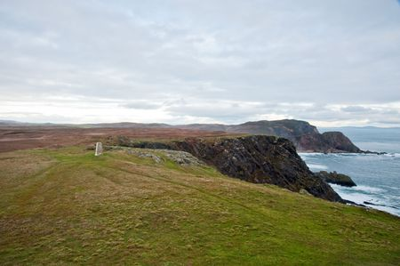 Mull of Oa peninsula on Islay, Scotland Stock Photo