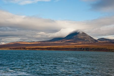 Paps of Jura mountains on the isle of Jura, Scotland