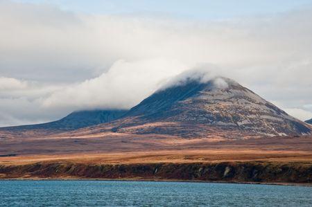 Paps of Jura mountains on the isle of Jura, Scotland photo