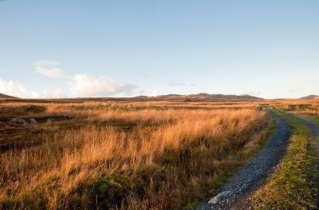 Road on the isle of Jura, Scotland