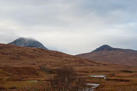 jura: Paps of Jura mountains on the isle of Jura, Scotland