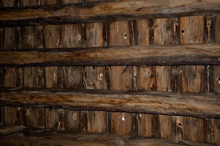 Ceiling of a room in Guedelon castle Stock Photo - 7634465