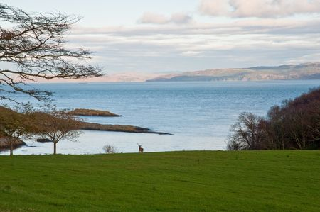 na: Loch na Mile off the island of Jura