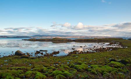 jura: Loch na Mile off the island of Jura
