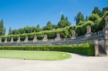 Boboli-Gärten in Florenz Italien Standard-Bild - 8428039