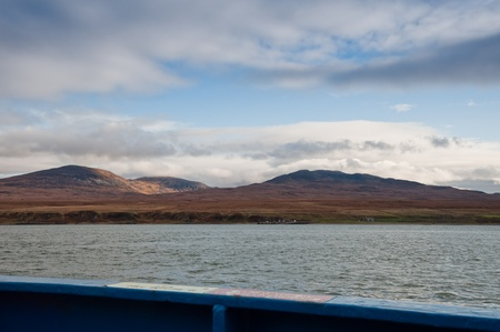 jura: Isle of Jura seen from ferry