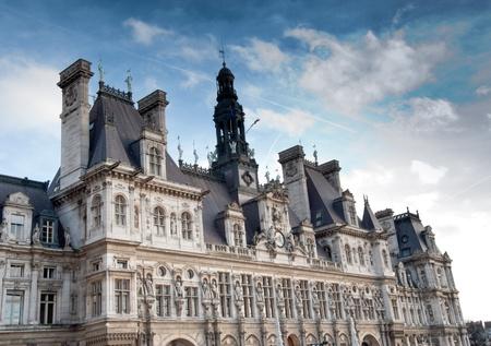 ville: Hotel de Ville, Paris France