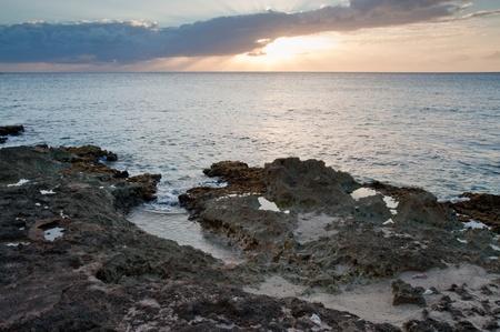 cayman: Grand Cayman sunset