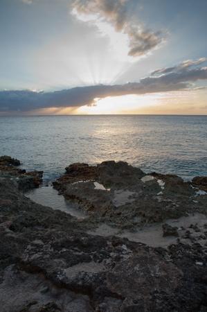 Grand Cayman sunset photo