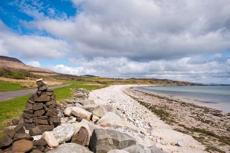View of Islay coastline Standard-Bild