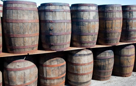 Scotch whisky barrels