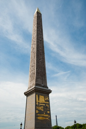 the obelisk: Paris obelisk