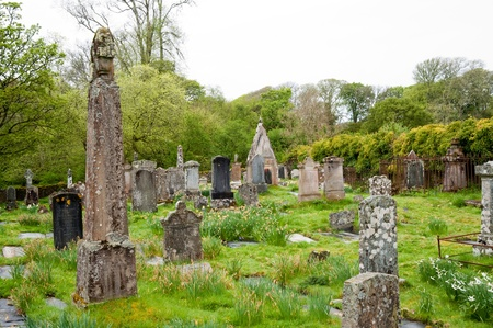 Cemetery on the isle of Islay