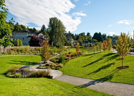 Neighborhood park in Seattle