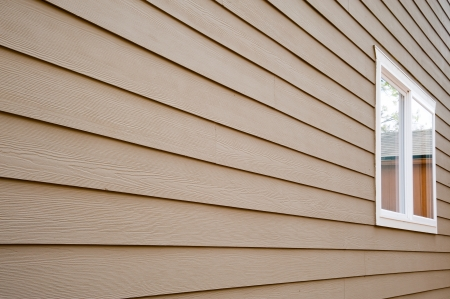 cladding: House wall and window