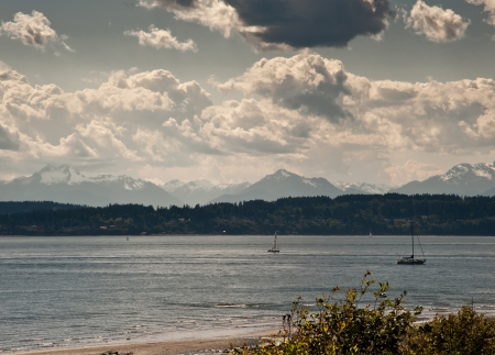 discovery: View from Discovery Park in Seattle, WA