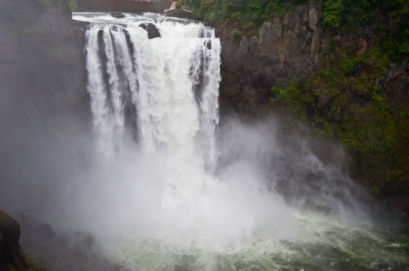 Snoqualmie Falls, Washington state, USA photo