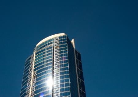 Skyscraper in downtown Seattle photo