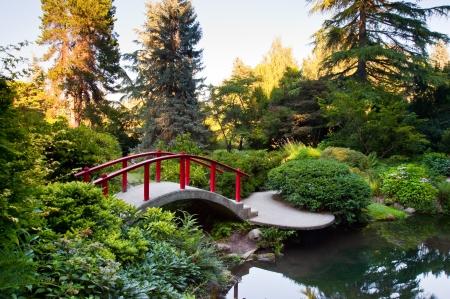 シアトル ワシントン州でクボタ ・ ガーデン 写真素材