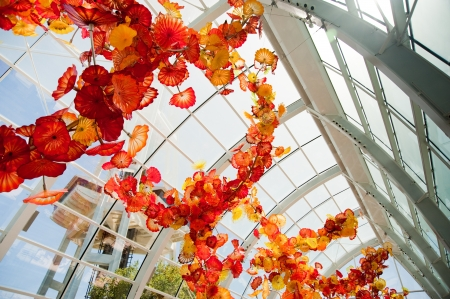 Space Needle and Chihuly Garden and Glass, Seattle WA