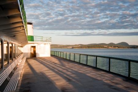 WA state ferry in Puget Sound