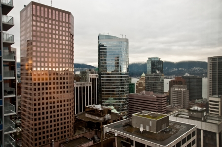 Vancouver skyline Stock Photo - 17861315