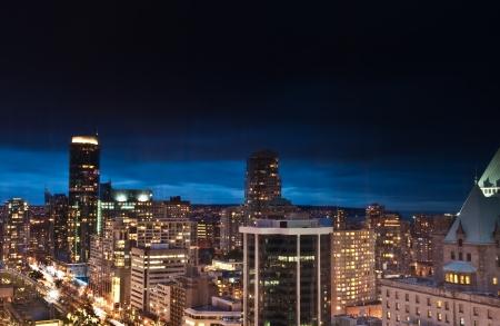 Vancouver skyline Stock Photo - 18681796