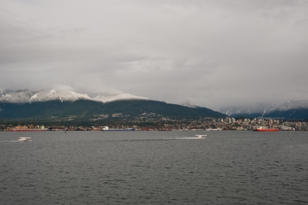 View of North Vancouver B C